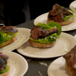 Tom Kerridge Pittsburgh black-and-blue steak sandwich recipe on Tom Kerridge's Best Ever Dishes