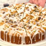 Fay Ripley moist lemon and pistachio cake recipe on Daily Brunch with Simon Rimmer and Tim Lovejoy