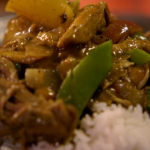 Jamie Oliver Massaman curry recipe with turkey and butternut squash inspired Thai cook Khun Saiyuud Diwong on Jamie's Cracking Christmas