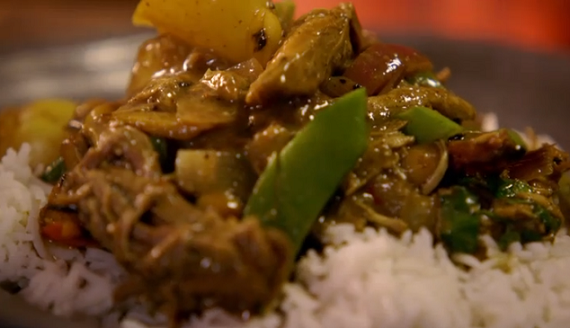 Jamie Oliver Massaman curry recipe with turkey and butternut ...