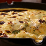 Tom Kerridge Smoked Haddock Omelette with cheese recipe on Tom Kerridge's Proper Pub Food