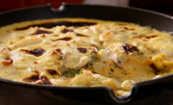 Tom kerridge turbot wrapped in puff pastry recipe alternative beef tom kerridge smoked haddock omelette with cheese recipe on tom kerridges proper pub food forumfinder Choice Image