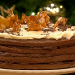 Gino  D'Acampo  Tiramisu recipe on Lets Do Christmas Lunch with Gino and Mel