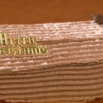Gino D'Acampo  Yule chocolate log on Let's Do Christmas with Gino and Mel