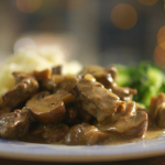 Mary Berry horseradish and mustard beef casserole recipe  on Mary Berry's Absolute Christmas Favourites
