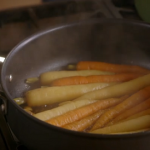 Jamie Oliver Sweet glazed carrots recipe on Jamie's Cracking Christmas