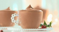 Rachel Allen makes a delicious looking chocolate mascarpone mousse for the festive season on Rachel Allen's Easy Christmas. The ingredients are: 100 g dark chocolate, broken into pieces, or dark...