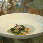 Raymond Blanc light shellfish chowder recipe on Saturday Kitchen