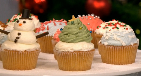 Carrot Cake Recipe Cupcake Jemma: Jemma's Festive Cupcakes Challenge On Let's Do Christmas