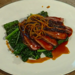James Martin roasted five-spice duck breast  recipe on Christmas Kitchen with James Martin