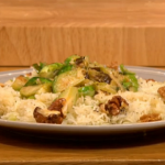 Gino  sprout and leek stroganoff recipe Let's Do Christmas