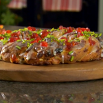 Paul Hollywood mincemeat and marzipan couronne  crown recipe on The Great British Bake Off Christmas Masterclass