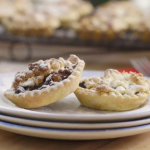 Mary Berry Mincemeat and orange feathered tarts recipe On Mary Berry's Absolute Christmas Favourites