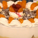Phil Vickery Christmas trifle dessert recipe on This Morning