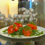 Brian Turner tomatoes stuffed with salmon recipe on Christmas Kitchen