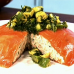 Phil Vickery festive feast  smoked salmon mousse with avocado and dill recipe Christmas Starter on This Morning