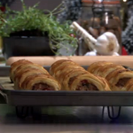 James Tanner Homemade sausage rolls recipe on Lorraine