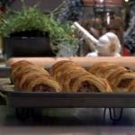 James Tanner Homemade sausage rolls recipe on Lorraine