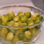 Phil Vickery Brussel Sprouts With Cumin Almonds  and Ginger recipe on This Morning