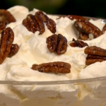 Gino Christmas pudding trifle dessert recipe on Let's Do Christmas