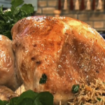 Phil Vickery Christmas roast turkey with vegetables recipe on This Morning