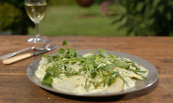 James Martin Salt Crust Baked Celeriac Recipe On James