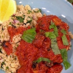 James Tanner Chicken in tomatoes with lemon and herb couscous recipe on Lorraine
