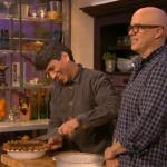 David and David chocolate cream pie recipe on Mel and Sue