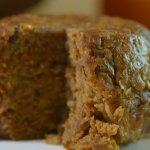Annie Grey war and peace pudding with carrot jam recipe on James Martin: Home Comforts