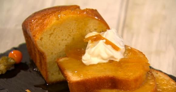 Yogurt-Marmalade Cake Recipe — Dishmaps