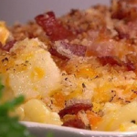 James Tanner cauliflower mac 'n' cheese recipe on Lorraine
