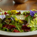 Freddy Bird goats' cheese salad recipe on  Food and Drink with Tom Kerridge