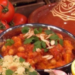 Dean Edwards roasted butternut squash tagine recipe on Lorraine