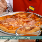 Gino Margherita pizza  recipe on bambini pizza masterclass  on This Morning