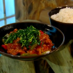 Brian Turner Sweet and sour pork with seaweed recipe Saturday Kitchen