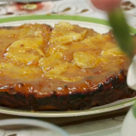 Apple and Orange Tart recipe on Back in Time for Dinner