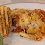 Gino's Italian Aubergine Parmigiana Bake recipe on This Morning