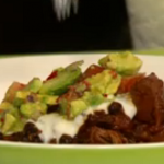 Simon Rimmer Pork with Smoked Chilli and Black Bean Stew Recipe on Sunday Brunch