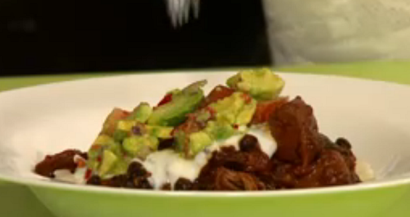 ... Smoked Chilli and Black Bean Stew Recipe on Sunday Brunch | TV Foods