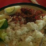 Rachel Khoo Nasi lemak Malaysian national dish on A Cook Abroad