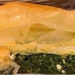 Spinach and ricotta pie recipe on Lorraine by Nadia Sawalha