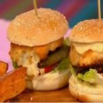 Simon Rimmer Cauliflower Cheeseburger recipe on Sunday Brunch