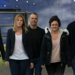 James, Natalie, Tina, Charlotte and Simon cook for survival  on   MasterChef 2015 UK