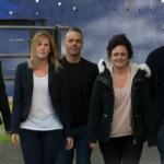 James, Natalie, Tina, Charlotte and Simon cook for survival  on   MasterChef 2015 UK