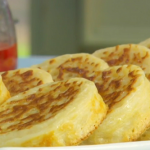 Paul Hollywood crumpets recipe on The Great Comic Relief Bake Off