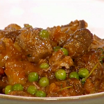 Gino's  one pot lamb stew with peas and thyme recipe on This Morning