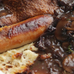 Simon Rimmer toad in the hole recipe on Sunday Brunch
