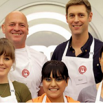Beth, Arabella, Ross, Dee and Paul cook for survival on MasterChef 2015 UK