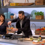 Dean Edwards pad Thai meat free recipe on Lorraine