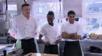 Ian, Michael and Hrishikesh compete in the Gilpin hotel Lake District kitchen to land their dream job on Alex Polizzi: Chefs on Trial. Alex tackles the Gilpin, a fine-dining hotel...